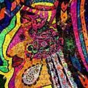 Her Majesty - Female Heroine   Art Print