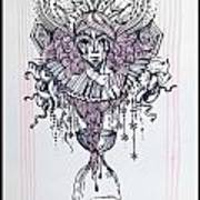 Her Majesty Time Art Print
