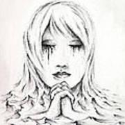 Her Prayers Art Print