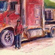 Her Truck Art Print