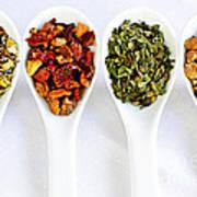 Herbal Teas Art Print