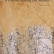 Herbie Hancock Quote Art Print