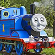 Here Comes Thomas The Train Art Print