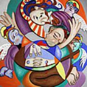 Here My Prayer Art Print by Anthony Falbo