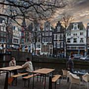 Kaizersgracht 451. Amsterdam. Holland Art Print