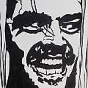 Here's Johnny Art Print