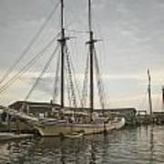 Heritage At Dock Art Print