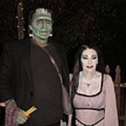 Herman And Lilly Munster Art Print