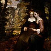 Hermia And Helena Art Print