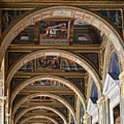 Hermitage Arches Art Print