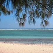 Hermitage - Ile De La Reunion - Reunion Island - Indian Ocean Art Print by Francoise Leandre