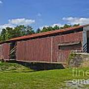 Herr Mill Covered Bridge Art Print