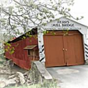 Herr's Mill Historic Bridge Art Print
