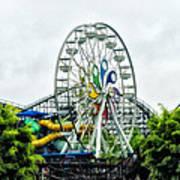 Hershey Park Ferris Wheel Art Print