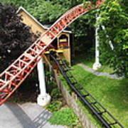 Hershey Park - Storm Runner Roller Coaster - 12121 Art Print by DC Photographer