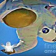 Hes Got The Whole World In His Hands Art Print
