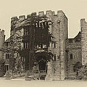 Hever Castle Yellow Plate Art Print by Chris Thaxter