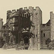 Hever Castle Yellow Plate Art Print