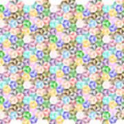 Hexagonal Cubes Art Print