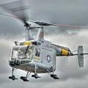 Hh-43 Huskie Art Print
