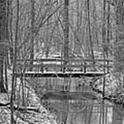 Hidden Bridge Art Print