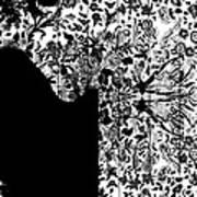 Hidden By Da Mask Art Print