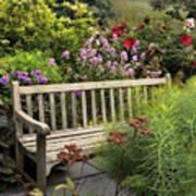 Hidden Garden Charm Art Print