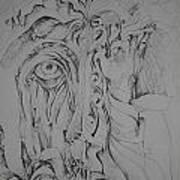 Hidden Faces Art Print by Moshfegh Rakhsha