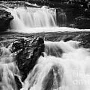 Hidden Falls Sheep River 1 Art Print