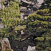 Hidden Pagoda Art Print