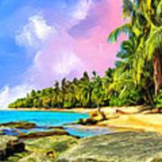 Hidden Paradise Art Print