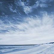 Higbee Beach Cyanotype Art Print