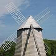 Higgins Farm Windmill Art Print