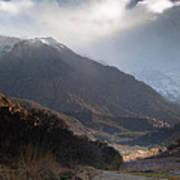 High Atlas Mountains Art Print