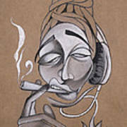 High Art Print by Chibuzor Ejims