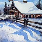 High Country Snow Art Print