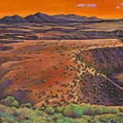 High Desert Evening Art Print
