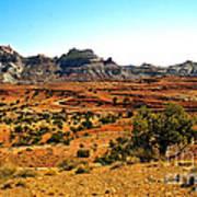 High Desert View Art Print