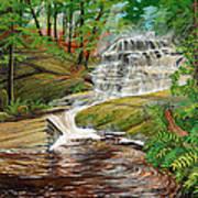 High Falls Art Print