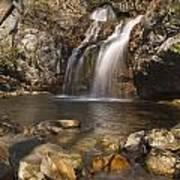 High Falls Talledega National Forest Alabama Art Print