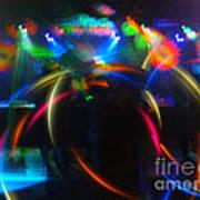 High Frequency Glow Art Print