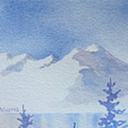 High Lake Art Print