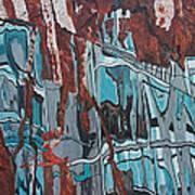 High Line Reflection 2 Art Print