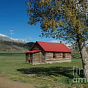 High Lonesome Ranch Art Print