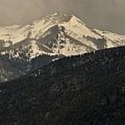High Mountains Of Taos Art Print