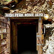High Peak Mine Art Print