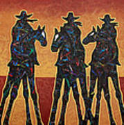 High Plains Drifters Art Print