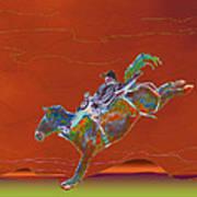 High Riding Art Print