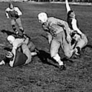 High School Football, 1941 Art Print