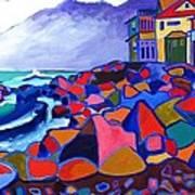 High Tide Boars Head Nh Art Print